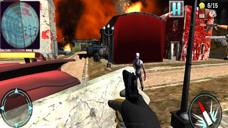 Zombie Age : FPS Hunting Game screenshot-5