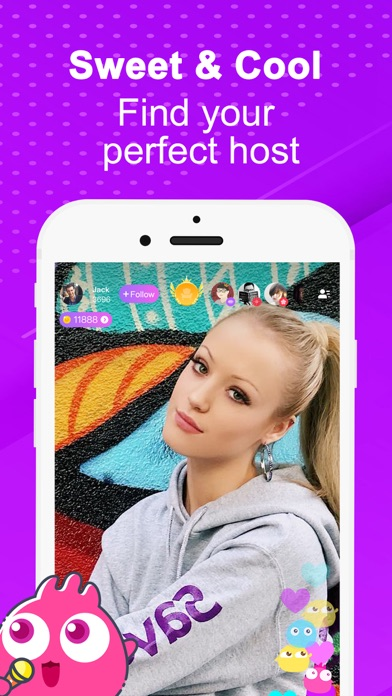 Uplive-Live it Up Screenshot on iOS