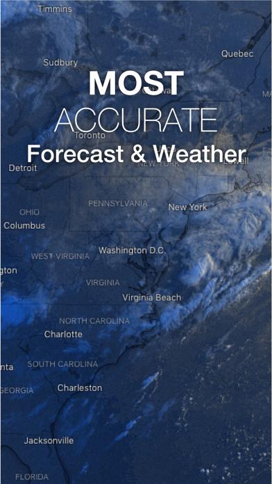 The Weather Forecast App Screenshot