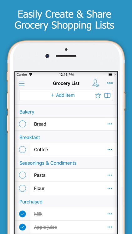 Shoppylist (Shopping List) screenshot-0