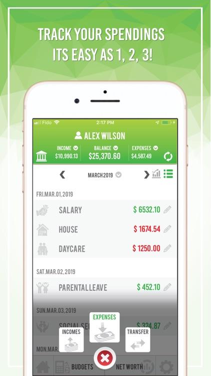 Budget App - Net Worth screenshot-4