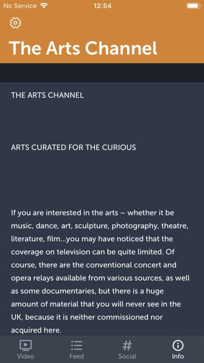 The Arts Channel screenshot-5