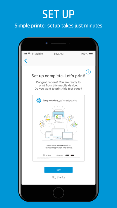 HP Smart by HP Inc  (iOS, United States) - SearchMan App