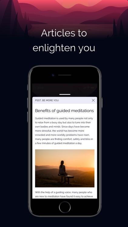 Focusly: Guided Meditation App screenshot-6