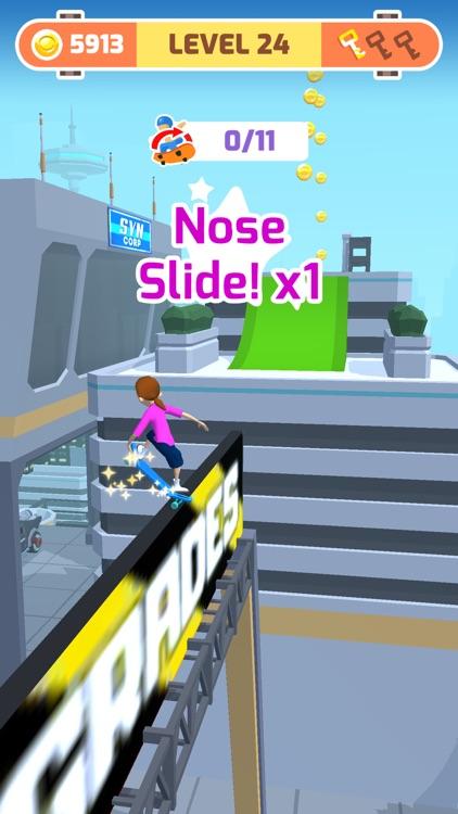 Skater Race screenshot-3