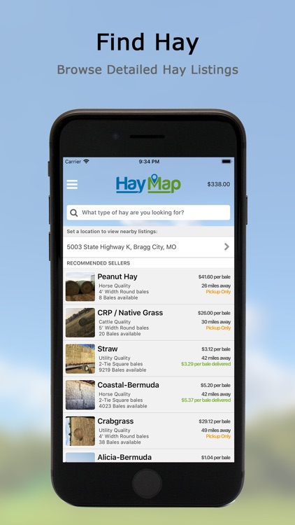Hay Map - Buy & Sell Hay screenshot-0