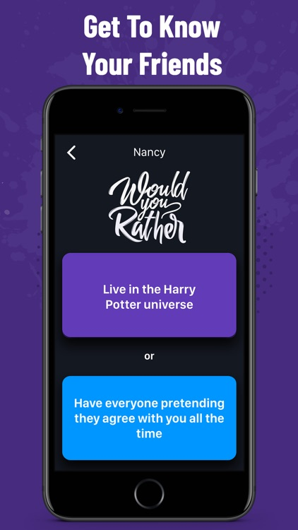 Would You Rather - Party Fun screenshot-3