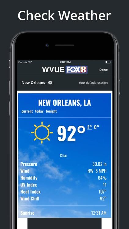 FOX 8 WVUE Mobile screenshot-6