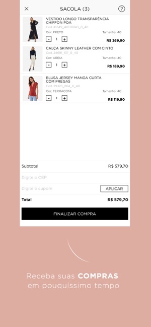 e7e41610d  AMARO - Comprar Moda Feminina na App Store