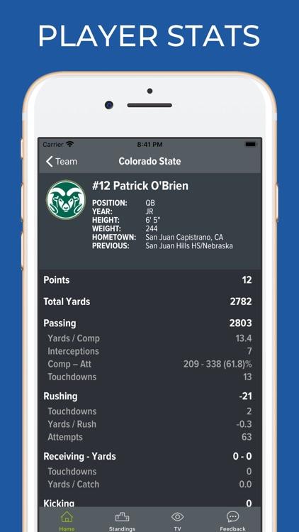 Colorado State Football App screenshot-3