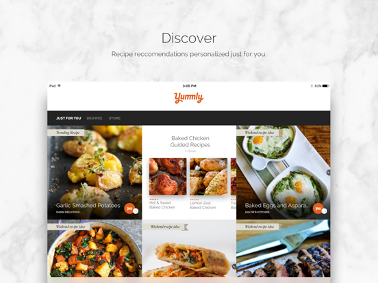 Yummly Recipes & Shopping Listのおすすめ画像1