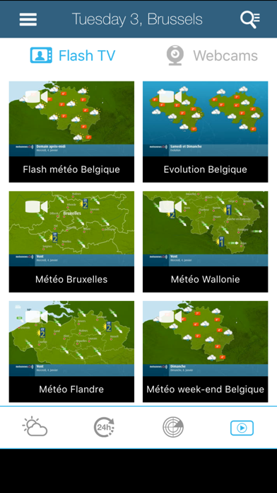 messages.download Weather for Belgium software