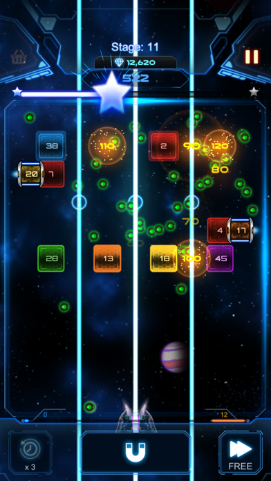 Bricks Breaker Galaxy Shooter screenshot 3