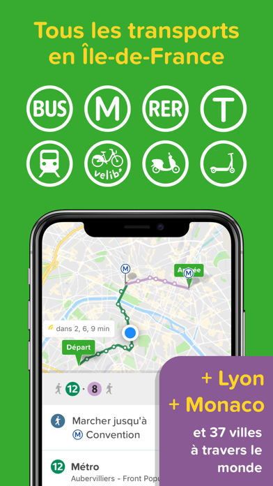 Screenshot for Citymapper in France App Store
