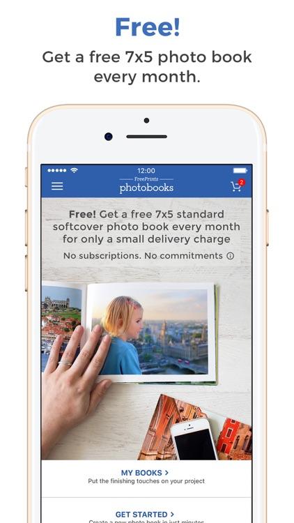 FreePrints Photobooks screenshot-0