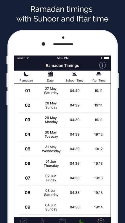 Ramadan 2020 Assistant screenshot-3