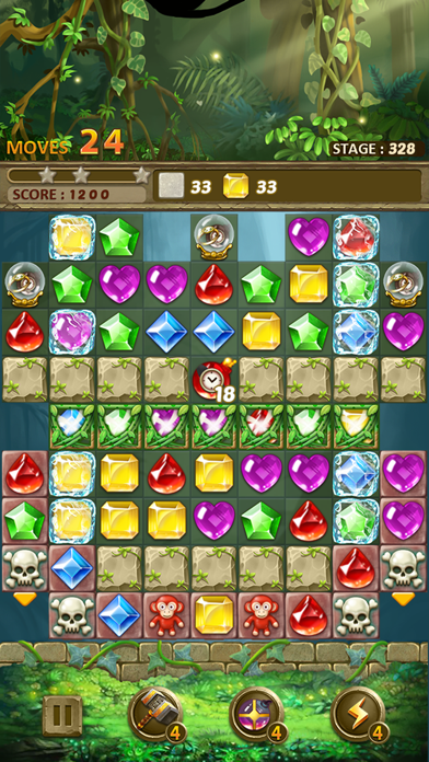 Jewels Jungle : Match 3 Puzzle screenshot 7