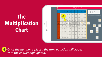 Multiplication Working Charts screenshot 4