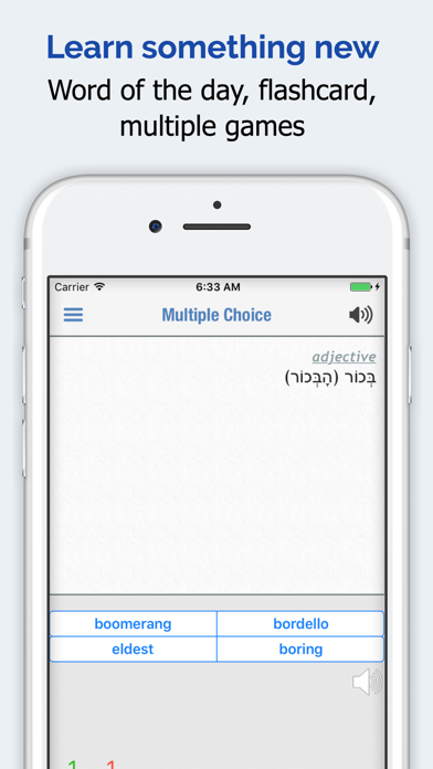 Hebrew Dictionary Premium review screenshots