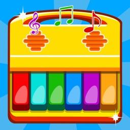 儿童游戏-宝宝弹钢琴音乐游戏