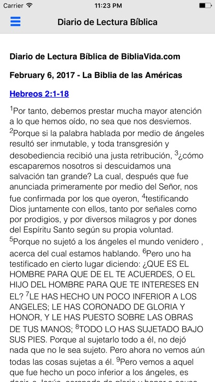 La Sagrada Biblia (Católica) screenshot-2
