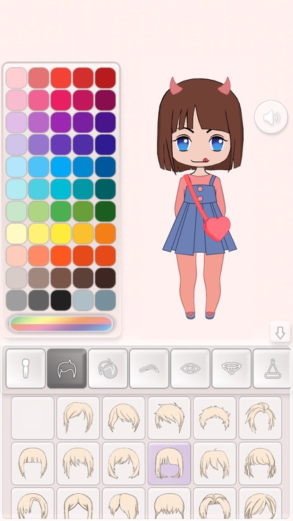 Chibi Maker - Avatar Creator screenshot-2
