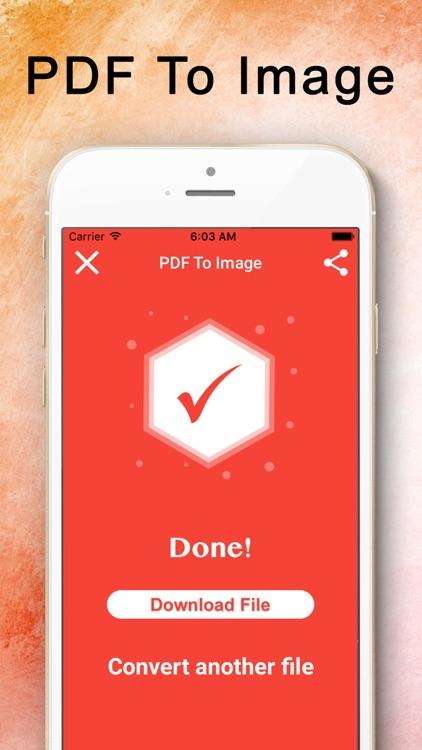 PDF Converter : PDF to Image