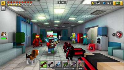 Screenshot from Pixel Gun 3D: Fun PvP Action