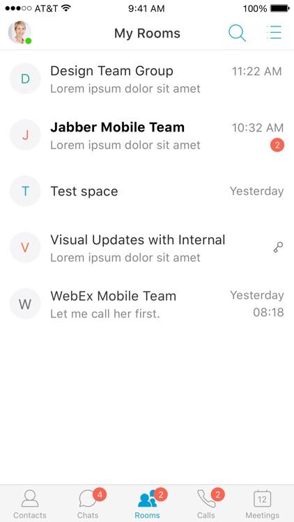 Cisco Jabber screenshot-9