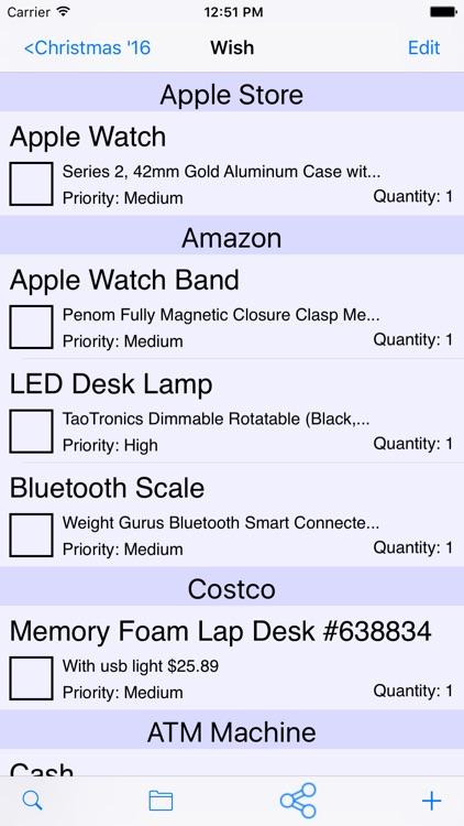 ShopIt - Grocery Shopping List screenshot-5