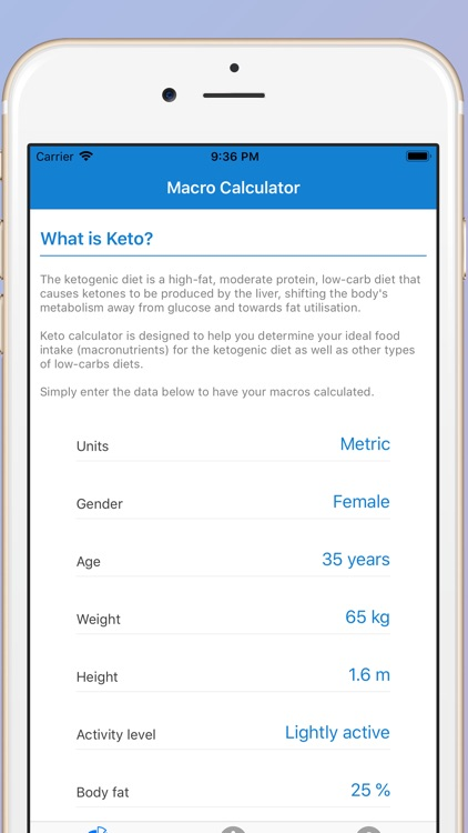 Keto Calculator - Keto Buddy