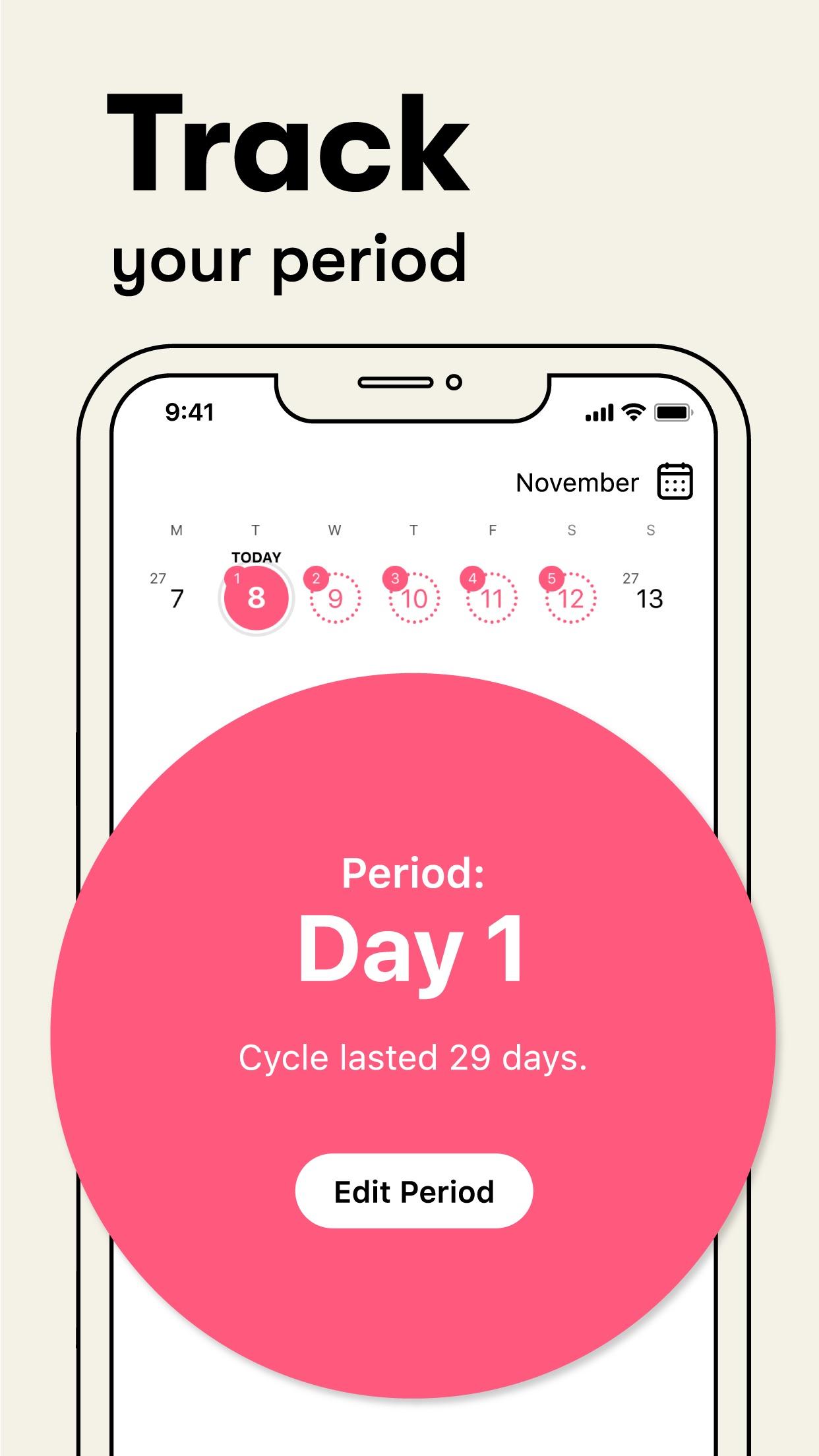 Flo: Health & Period Tracker Screenshot