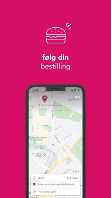 foodora - mat levert hjem iPhone app afbeelding 5