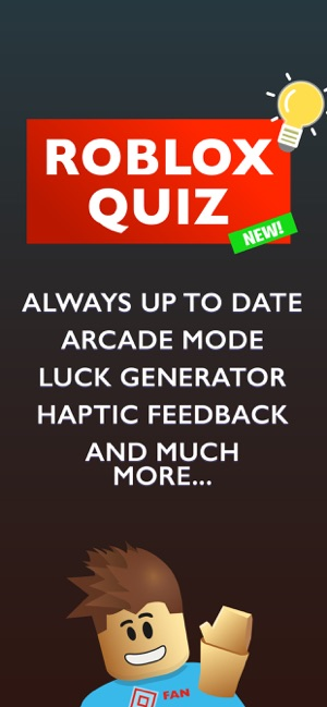 Quiz for Roblox Robux on the App Store