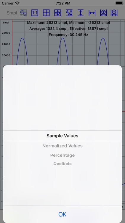 Mobile Oscilloscope screenshot-7