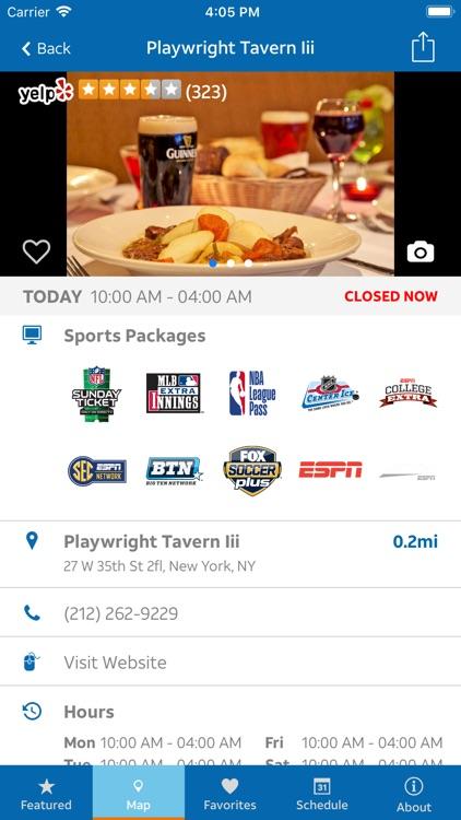 Sports Bar Finder screenshot-3