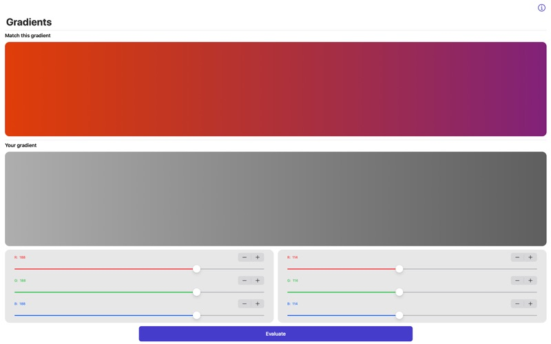 Gradients Game for Mac