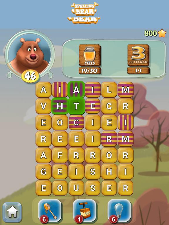 Spelling Bear :Honey Word Hunt screenshot 8