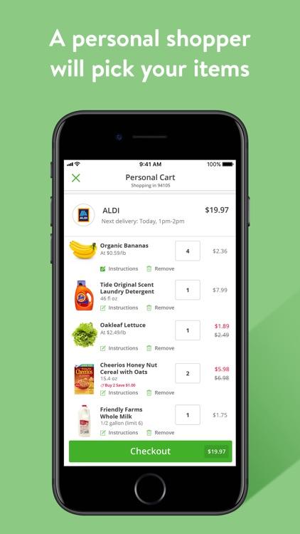 Instacart - grocery deliveries screenshot-4