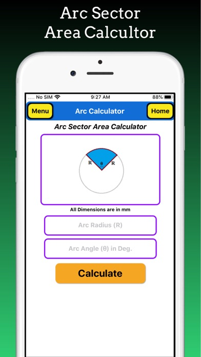 Arc Calculations screenshot 5