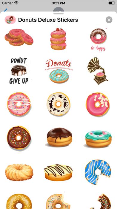 Donuts Deluxe Stickers screenshot 3