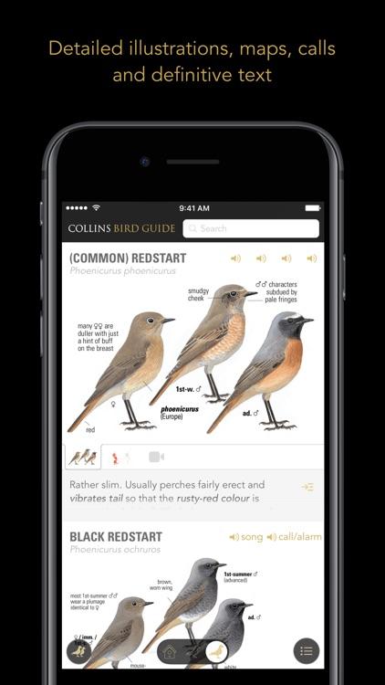 Collins British Bird Guide screenshot-3