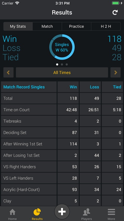 Smashpoint Tennis Tracker screenshot-7