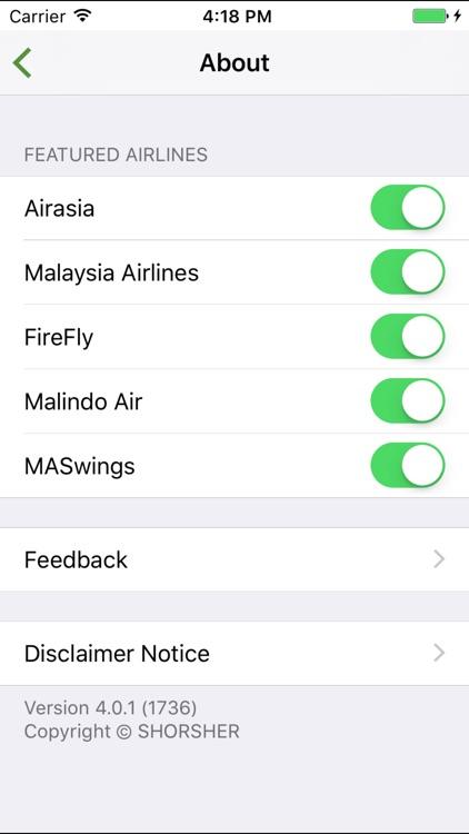 Malaysia Flight Lite screenshot-3