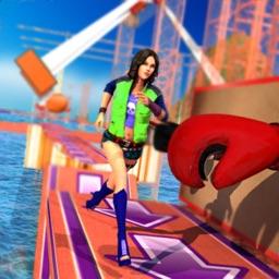 Water Stuntman 3D Race
