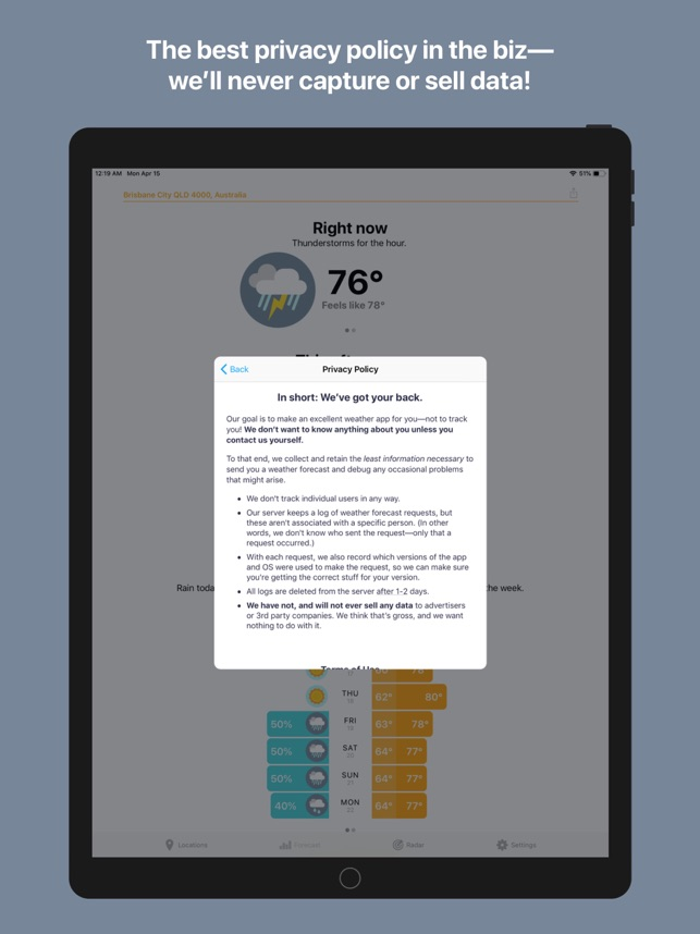 Hello Weather on the App Store