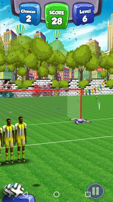 Flick Shoot Soccer Star 2018Screenshot von 3
