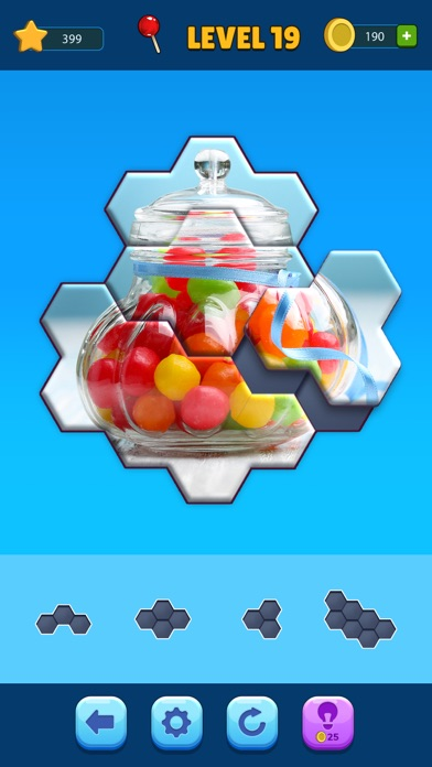Hexa Jigsaw Puzzle™ screenshot 5