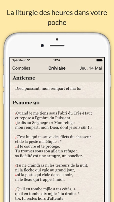 Screenshot #1 pour Liturgie