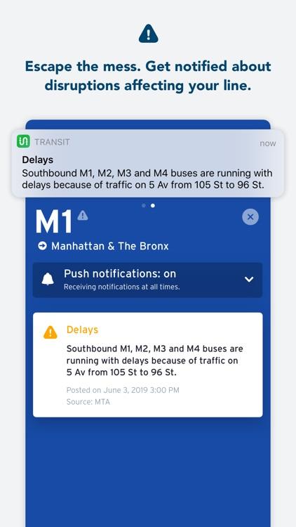 Transit • Subway & Bus Times screenshot-4